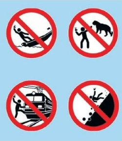 verkeersbord verboden vliegen